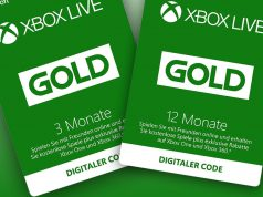 Xbox Live Gold-Guthabenkarten sind im Einzelhandel erhältlich (Abbildungen: Microsoft)