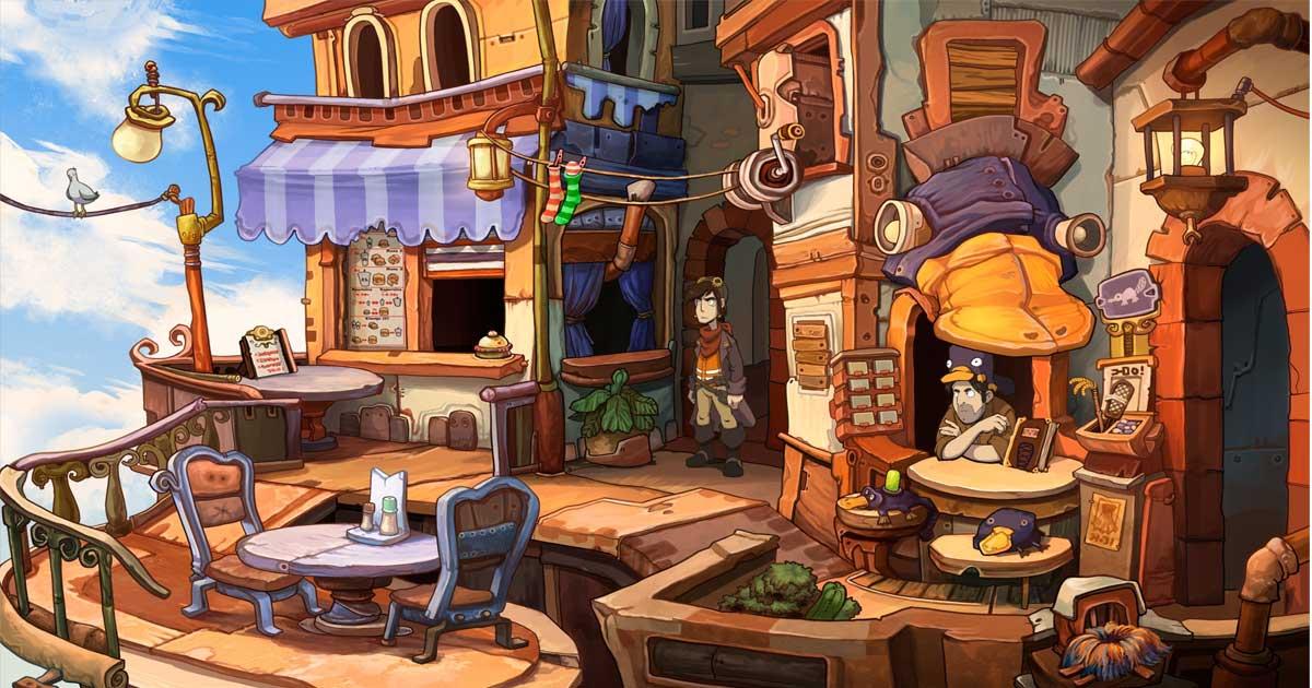 """Jüngster Neuzugang im Poki-Sortiment: """"Chaos auf Deponia"""" für Xbox One und PlayStation 4"""