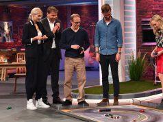 """ProSieben-Show """"Das Ding des Jahres"""": Martin Müller stellt seine Erfindung """"DR!FT Racer"""" vor (Foto: ProSieben/Willi Weber)"""