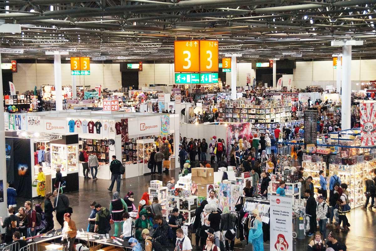 Zur DoKomi 2018 in Düsseldorf werden 45.000 Besucher erwartet.