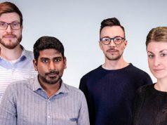 Dennis Schoubye, Jan Kronenberger, Head of PR Peter Meyenburg und Esther Haal bilden das neue PR-Team bei InnoGames.