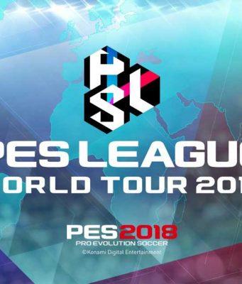 """Die Weltmeisterschaft der """"Pro Evolution Soccer""""-Profis: die PES League World Tour 2018."""