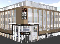 So stellen sich die Architekten den neuen Saturn Flagship Store in Köln vor (Abbildung: Saturn)