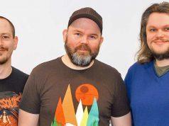 Nico Balletta, Dirk Gooding und Simon Fistrich organisieren mit Aruba Devents sowohl die Quo Vadis 2018 in Berlin als auch die Devcom 2018 im Vorfeld der Gamescom in Köln.