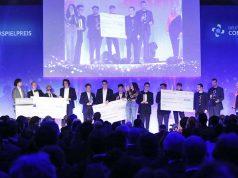 Am 10. April werden Preisgelder in Höhe von 560.000 Euro an die Gewinner des Deuschen Computerspielpreises 2018 verteilt (Foto: Franziska Krug/Getty Images für Quinke Networks)