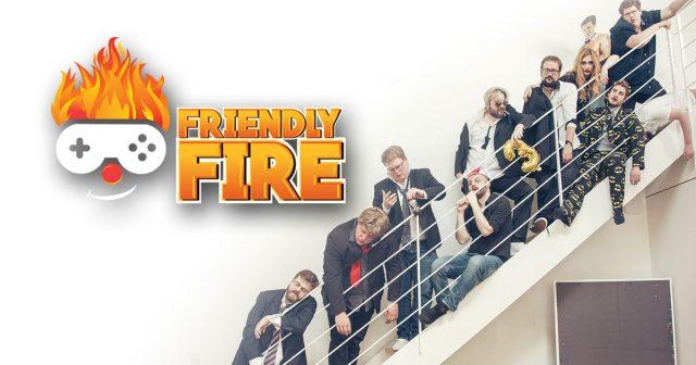 Das Ensemble von Friendly Fire 3 meldet eine Rekord-Spendensumme (Foto: Andreas
