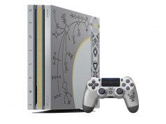 """""""Leviathan Grey"""" nennt sich der Farbton der Konsole im limitierten God of War PlayStation 4 Pro Bundle."""
