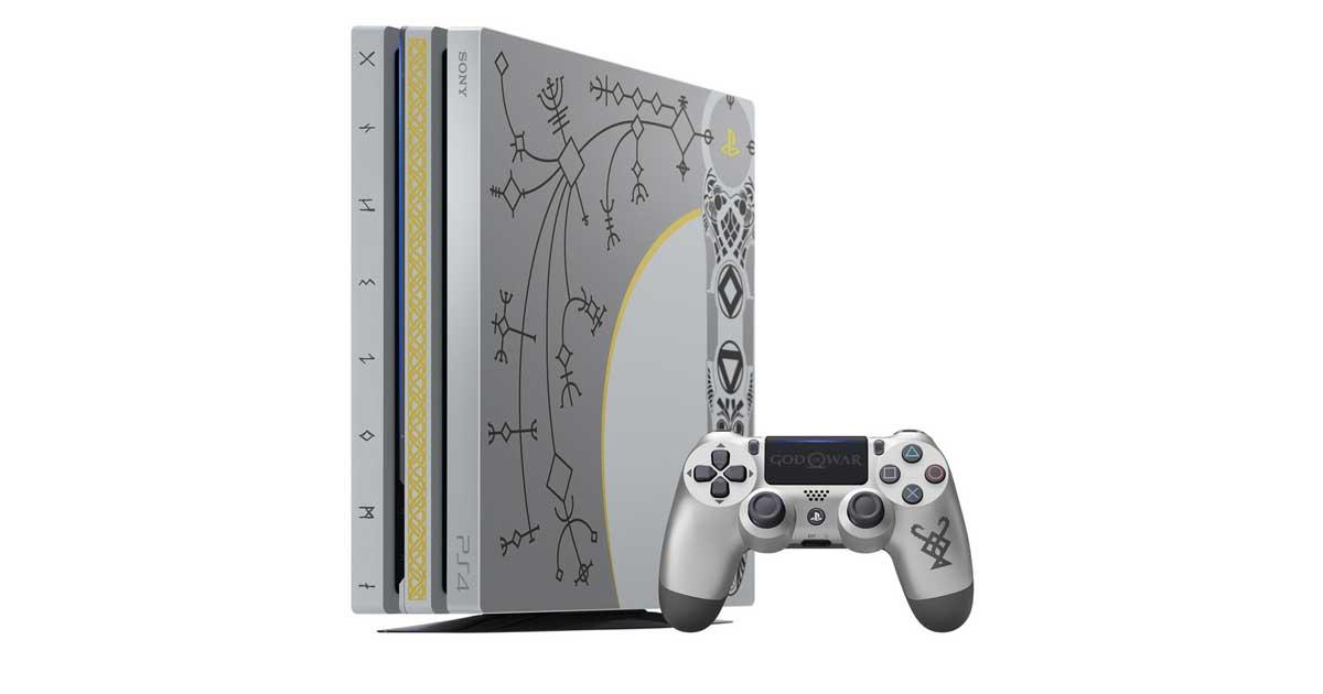 Sony kündigt god of war playstation pro bundle an