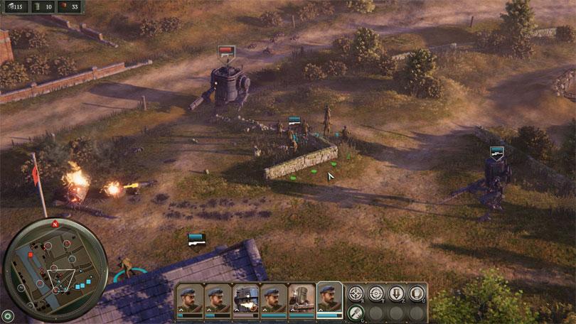 """In """"Iron Harvest"""" setzt King Art Games auf die gewohnte Echtzeitstrategie-Steuerung."""