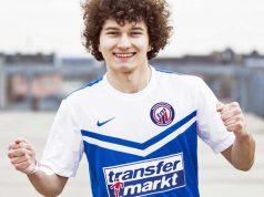 """Der 20jährige Mario Reubold (""""MMayo"""") ist neuer Werbeträger von Transfermarkt."""