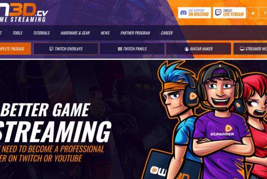 Via Online-Shop verkauft Own3d eine Vielzahl an Paketen für Twitch-Livestreamer.