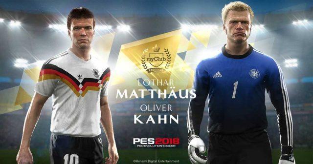 German Legends: Konami würdigt Lothar Matthäus und Oliver Kahn in
