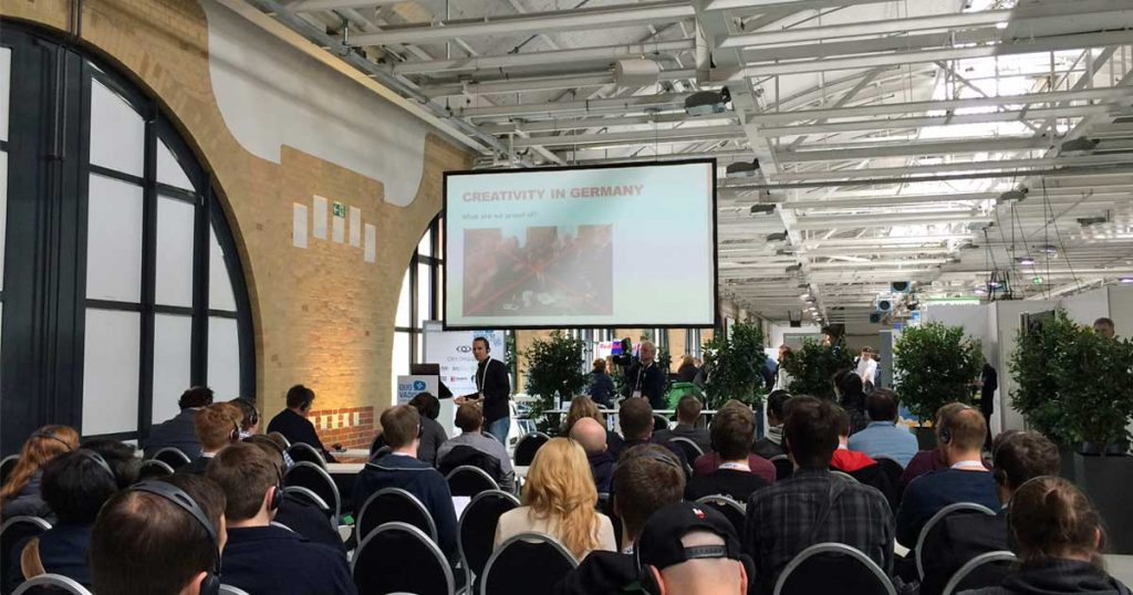 """Wie schon zur Quo Vadis 2017 bleibt die """"Station"""" in Berlin Kreuzberg der Austragungsort der Konferenz."""
