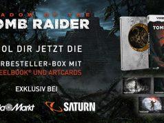 """Die """"Shadow of the Tomb Raider""""-Vorbesteller-Box ist exklusiv bei Media Markt und Saturn erhältlich (Abbildung: Square Enix)"""