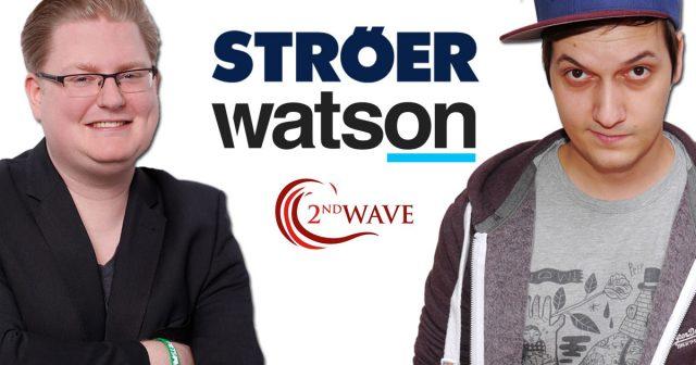 Das Ströer-Portal Watson.de kooperiert mit einigen der bekanntesten Youtuber Deutschlands: Peter Smits von PietSmiet und Florian Mundt alias LeFloid.