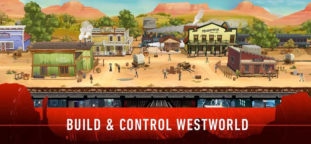 """Oben der Vergnügungspark, im Untergrund die Firmenzentrale: Das """"Westworld""""-Konzept erinnert an """"Fallout Shelter""""."""