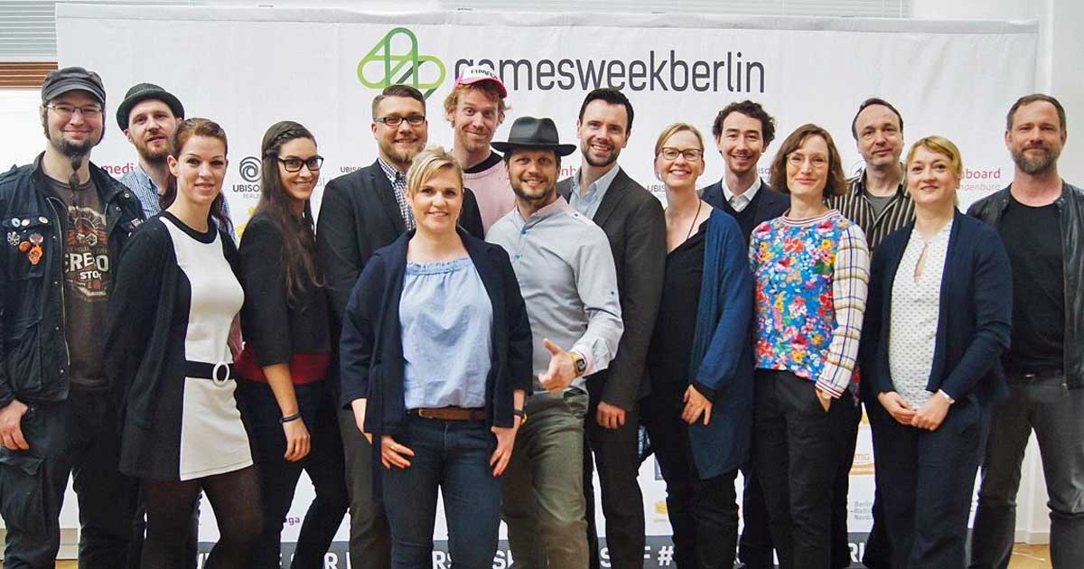 Pressekonferenz zur Games Week Berlin 2018: Die Veranstalter erwarten mehr als 15.000 Besucher.