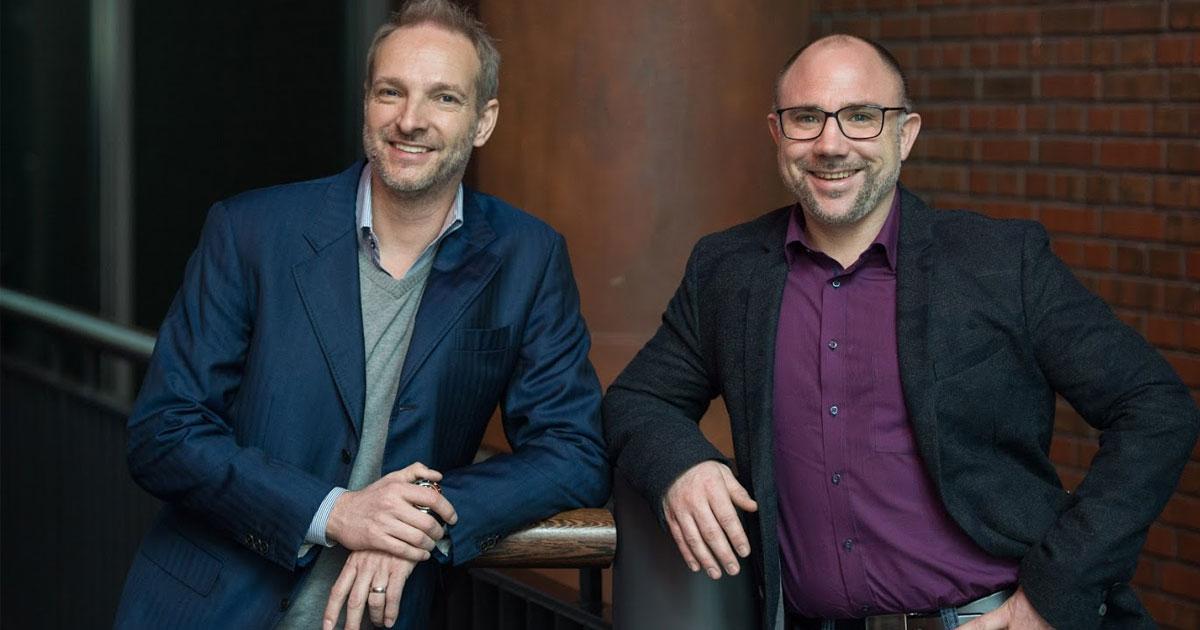 Gemeinsam mit MSM-Gründer Markus Oeller (rechts) führt Torsten Oppermann die Lübecker Agentur-Gruppe.