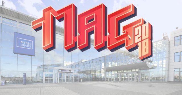 Die Fan-Convention MAG 2018 findet vom 5. bis 7. Oktober auf dem Gelände der Messe Erfurt statt.