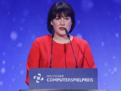 Marie-Blanche Stössinger (hier bei der Verleihung des DCP 2018) wechselt von der USK zu Universal Music Deutschland (Foto: Isa Foltin/Getty Images für Quinke Networks)