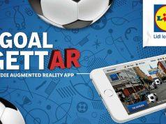 """Kostenlos zum Download: das Augmented-Reality-Spiel """"Lidl GoalgettAR"""" zur Fußball-WM (Abbildung: obs/LIDL/Lidl)"""