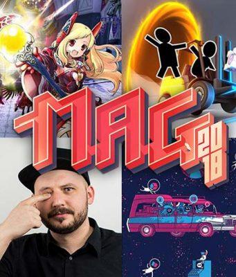 Die Youtuber Fischc0p und Lara Loft haben ihre Teilnahme an der MAG 2018 in Erfurt bestätigt (Abbildung: Super Crowd Entertainment)