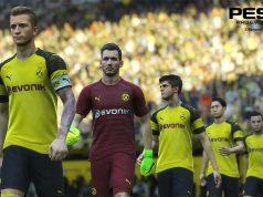 """Borussia Dortmund gehört auch bei """"PES 2019"""" zu den Lizenzpartnern von Konami."""