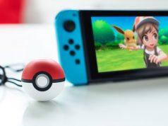 """Die im November erscheinenden """"Pokémon""""-Spiele für Nintendo Switch lassen sich auch mit dem """"Pokéball Plus""""-Controller bedienen (Foto: Nintendo)"""