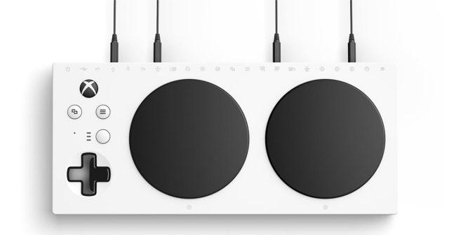 Mit dem Xbox Adaptive Controller will Microsoft die barrierefreie Nutzung von Spielen erleichtern.