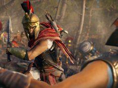 """Spektakuläre Gefechte bleiben der Kern von """"Assassin's Creed Odyssey"""" (Abbildung: Ubisoft)"""