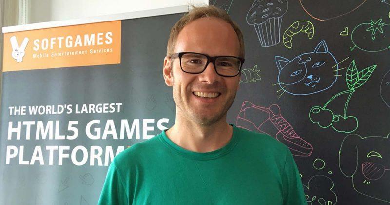 Softgames-Gründer Alexander Krug will vom Wachstum der Messenger-Games profitieren (Foto: GamesWirtschaft)