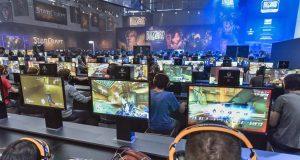 """Gamescom 2018 Spiele im Überblick: Blizzard Entertainment zeigt unter anderem """"World of Warcraft: Battle for Azeroth"""" (Foto: KoelnMesse / Thomas Klerx)"""