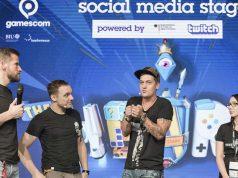 """Die """"Social Media Stage"""" in Halle 10 gehört zu den Publikumsmagneten der Gamescom (Foto: KoelnMesse / Oliver Wachenfeld)"""