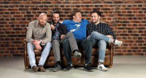 """Die Moderatoren von """"Haus2"""": Sebastian Flotho, Christopher Behr, Nico Wendt und Niklas Henning (Foto: Freaks 4U Gaming GmbH)"""