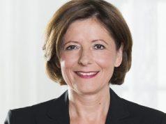 Zum Start von GameDevs Rheinland-Pfalz Ministerpräsidentin Malu Dreyer (SPD) die Relevanz des Wirtschaftszweigs Computerspiele (Foto: Staatskanzlei RLP/Elisa Biscotti)