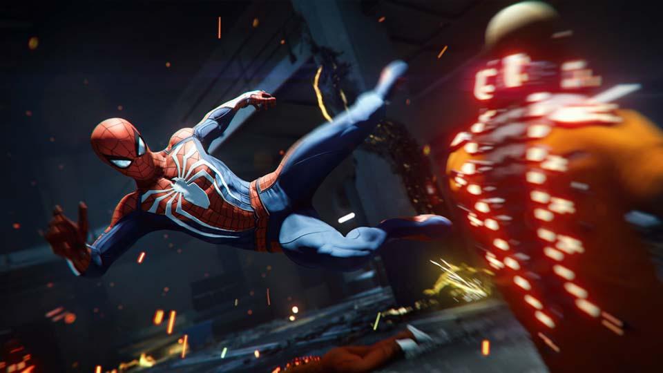 """Während des PlayStation E3 2018 Showcase zeigte Sony Interactive frisches Material aus """"Marvel's Spider-Man"""" (Abbildung: Sony Interactive)"""
