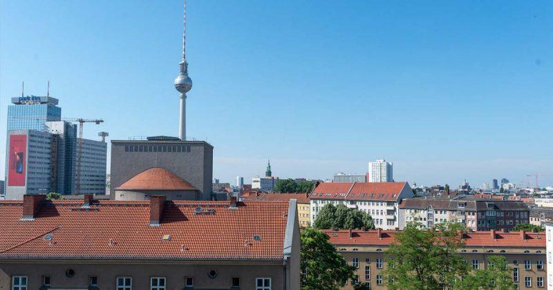 Vom 6. Stock der Softgames-Büros aus hat man einen grandiosen Blick über Berlin Mitte.