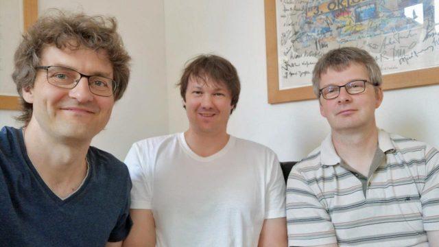 Die Gründer von Winning Streak Games: Gerald Köhler, Dirk Winter und Rolf Langenberg (Foto: privat)