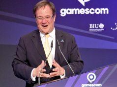 Wie schon 2017 übernimmt NRW-Ministerpräsident Armin Laschet (CDU) die Eröffnung der Gamescom (Foto: Game e. V. / Isa Foltin / Getty Images)