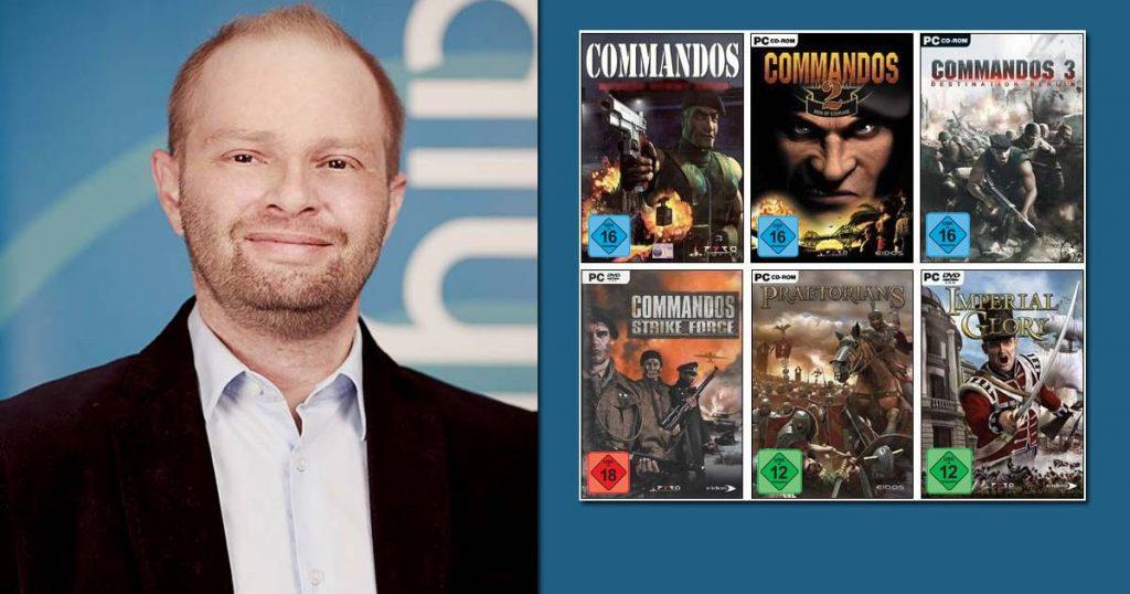 """Kalypso-Media-Geschäftsführer Simon Hellwig kündigt eine """"Commandos""""-Fortsetzung an (Abbildungen: Kalypso Media)"""