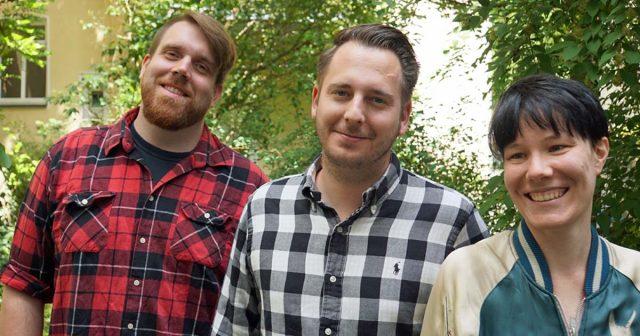 Jan Homrighausen (PR-Trainee), Tom Loske (Senior PR-Berater) und Katharina Popp (PR-Trainee) sind die drei Neuen bei Marchsreiter Communications.