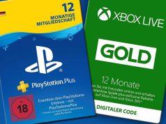 Mehr als 3 Millionen PC- und Konsolenbesitzer in Deutschland nutzen Online-Dienste wie PlayStation Plus und Xbox Live Gold.