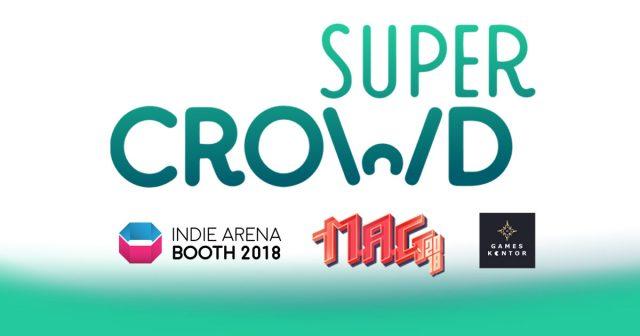 Super Crowd Entertainment organisiert die MAG 2018 und den Indie Arena Booth 2018 im Rahmen der Gamescom.