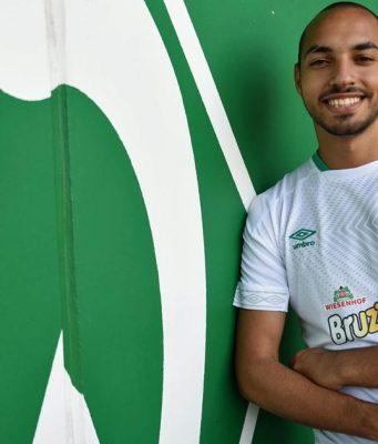 """Mohammed Harkous (""""Mo Aubaymeyang"""" tritt bereits zur """"FIFA 18""""-WM im August für Werder Bremen an (Foto: Werder.de/esports)"""