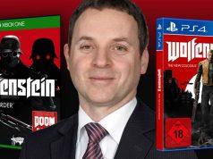 """Dr. Andreas Lober ist Partner bei der Kanzlei Beiten Burkhardt in Frankfurt und berät unter anderem Bethesda (""""Wolfenstein 2"""") - Abbildungen: Bethesda / BBLAW"""
