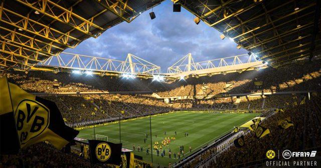 Gelbe Wand inklusive: Der Signal-Iduna-Park wurde für