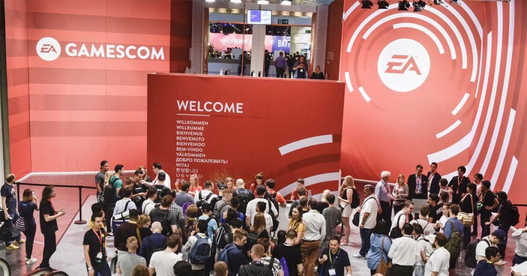 Seit 2017 belegt Electronic Arts die Halle 1 in der Business Area der Gamescom (Foto: KoelnMesse / Thomas Klerx)