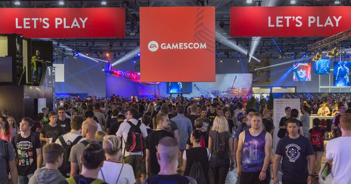 """""""Battlefield 5"""" und """"FIFA 19"""" bildeten die Schwerpunkte des Gamescom-2018-Auftritts von Electronic Arts (Foto: KoelnMesse / Harald Fleissner)"""