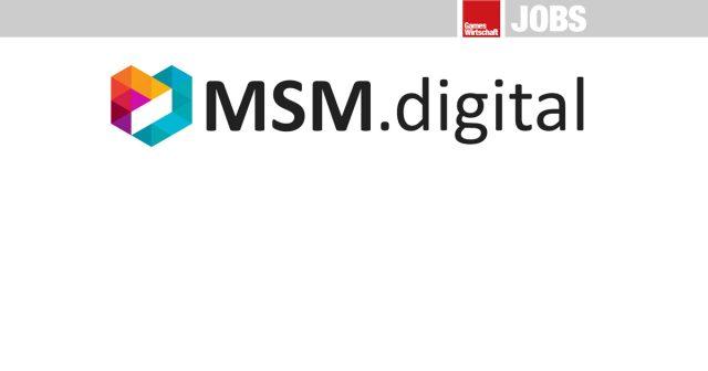 Die aktuellen Job-Angebote und Stellenanzeigen von MSM.digital