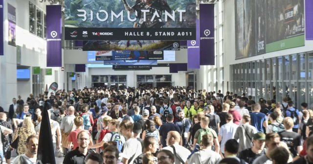 Gamescom 2018: Der Messe-Boulevard verbindet die Hallen der Entertainment Area (Foto: KoelnMesse / Thomas Klerx)